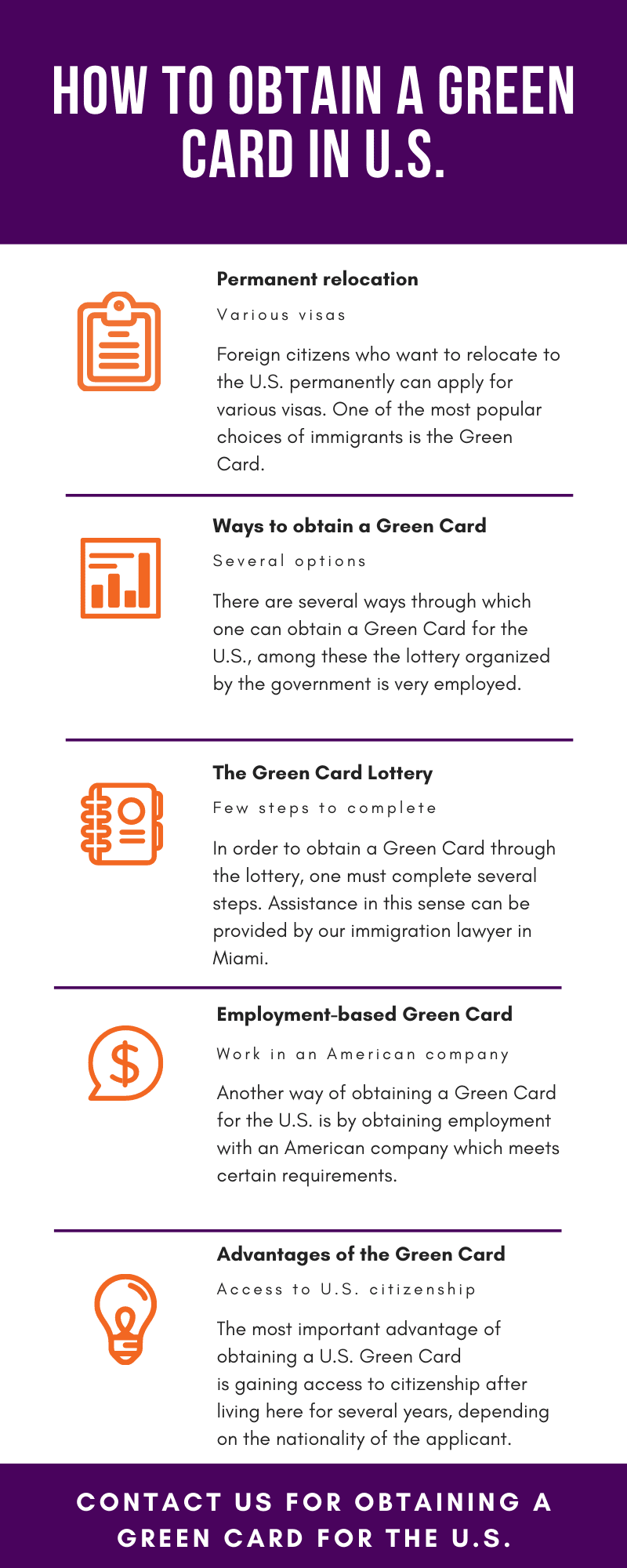 How to Obtain a Green Card in US